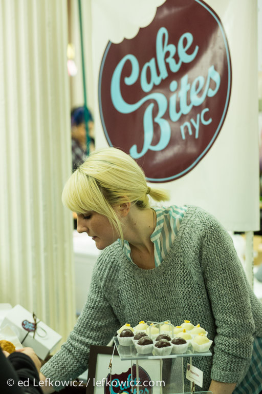 Williamburg's Cake Bites, with their handmade cake truffles