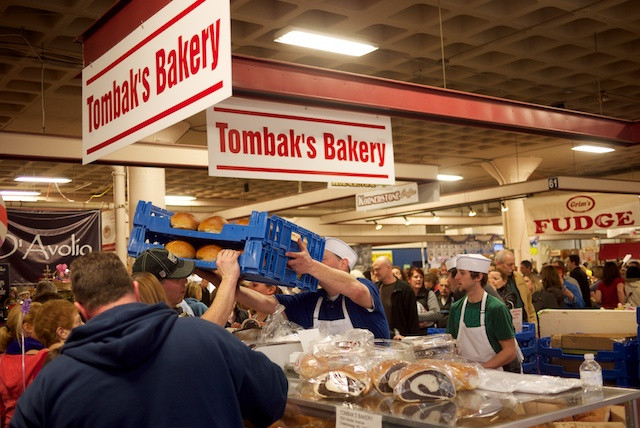 Tombak's Bakery making fine rye bread for Easter