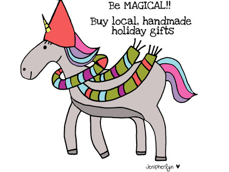 Join Our Magical Campaign: Unicorns Buy Local and Handmade!
