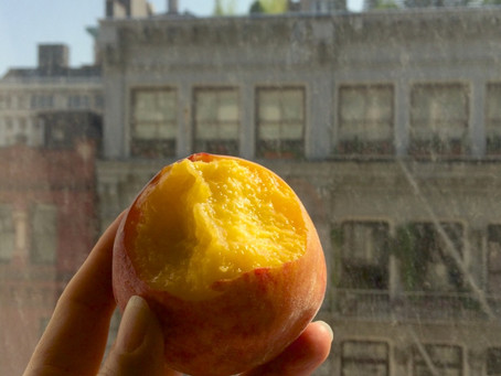 Juicy And Sweet: The First Peaches of Summer
