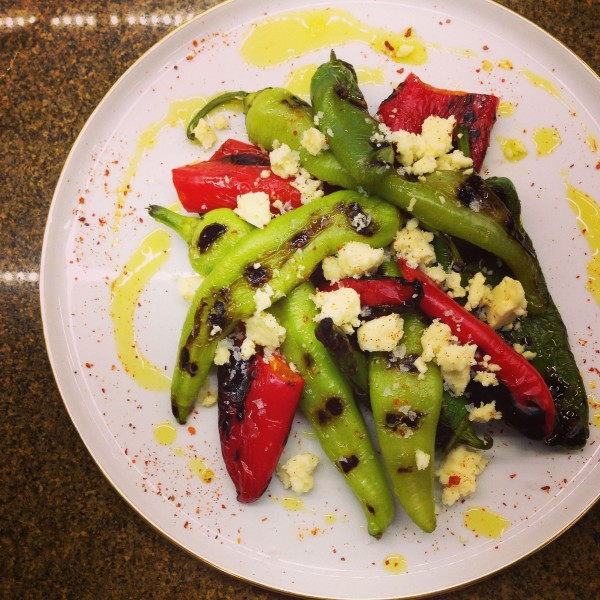 Ross' Creation: Turkish Peppers and Cheese