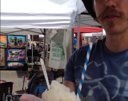 Weekend Market Picks July 6 & 7, 2013: NEW VIDEO with Ice Riders Shaved Ice