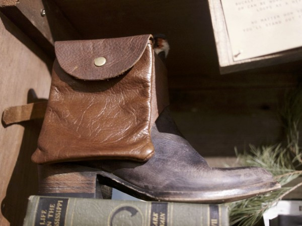 Leather Boot Pouch
