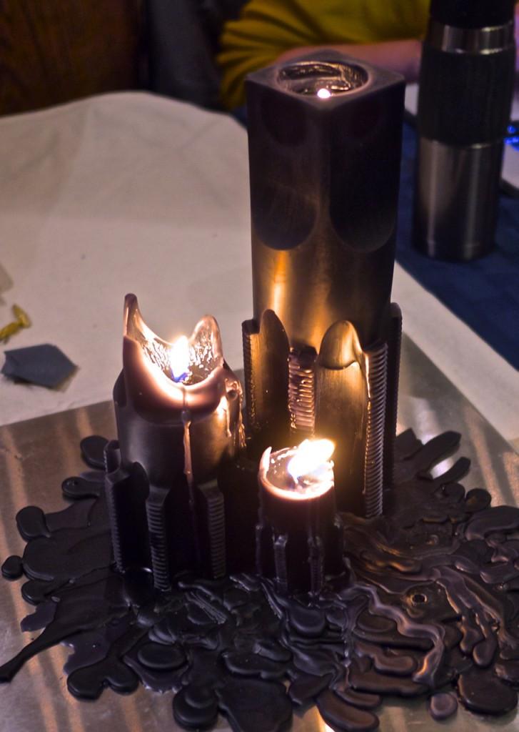 QEllis candle burning