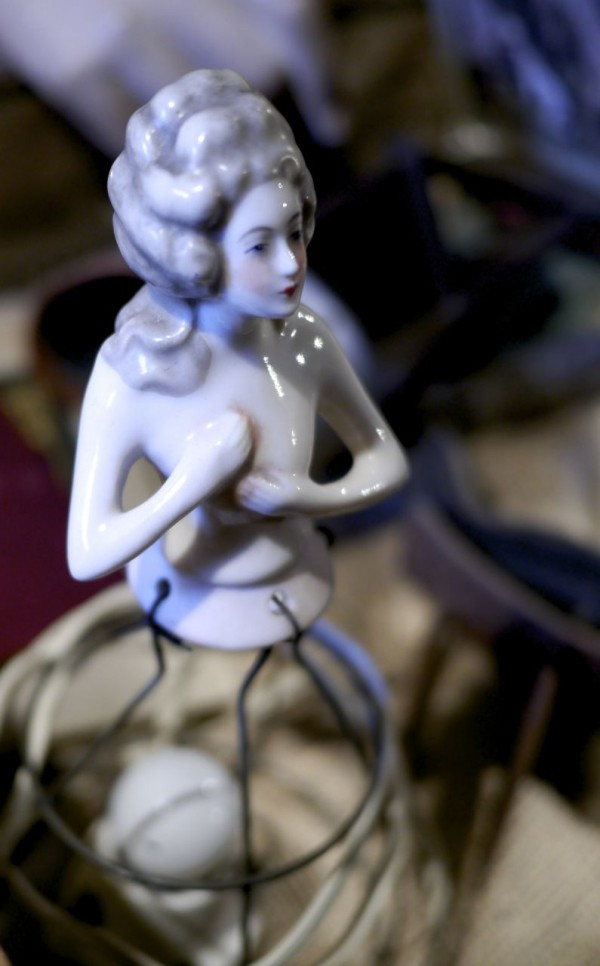 Porcelain Lady from the Invisible Gallery