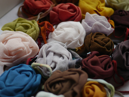 Weekend Market Picks – September 14 & 15, 2013: Silk Roses by Michèle Bidault