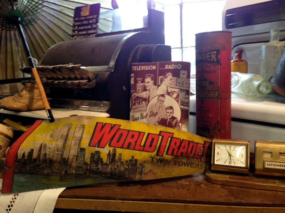Estate Sale: World Trade Center banner and other vintage ephemera