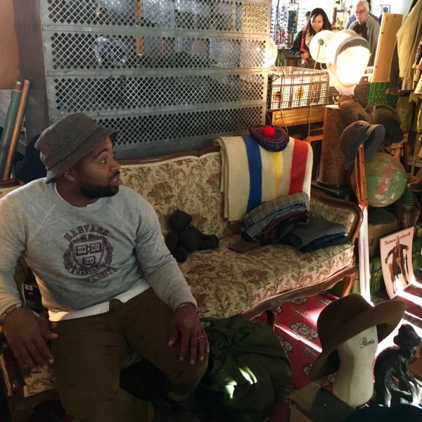 KB will change his shop every weekend at the Brooklyn Flea