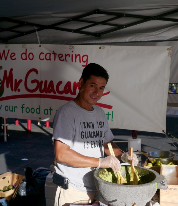 Mr Guacamole makes lovely, flavorful guacamole!