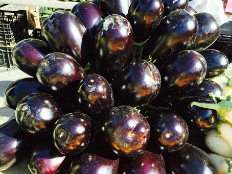 Weekend Market Picks October 10 – 11, 2015: Gaze Into This Eggplant