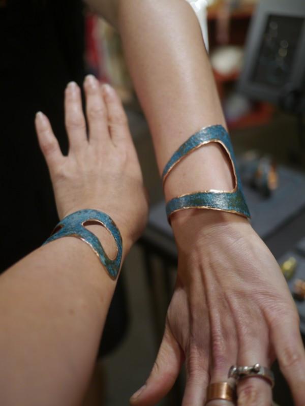Elke Van Dyke Seascape Cuff Bracelets