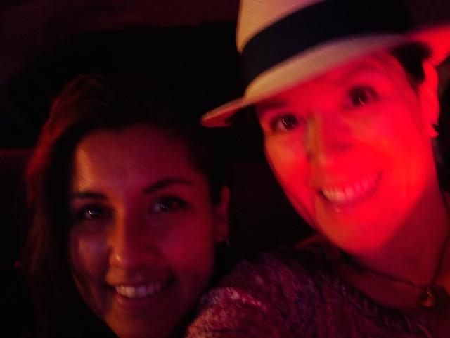 Maya and Karen at the Brooklyn Night Bazaar