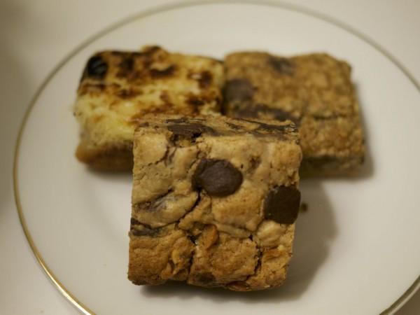 Meryienda's Gluten Free Bars: Chunky Peanut Butter Bar, Filippino Inspired Cassava Bar, Brilliant Blondie