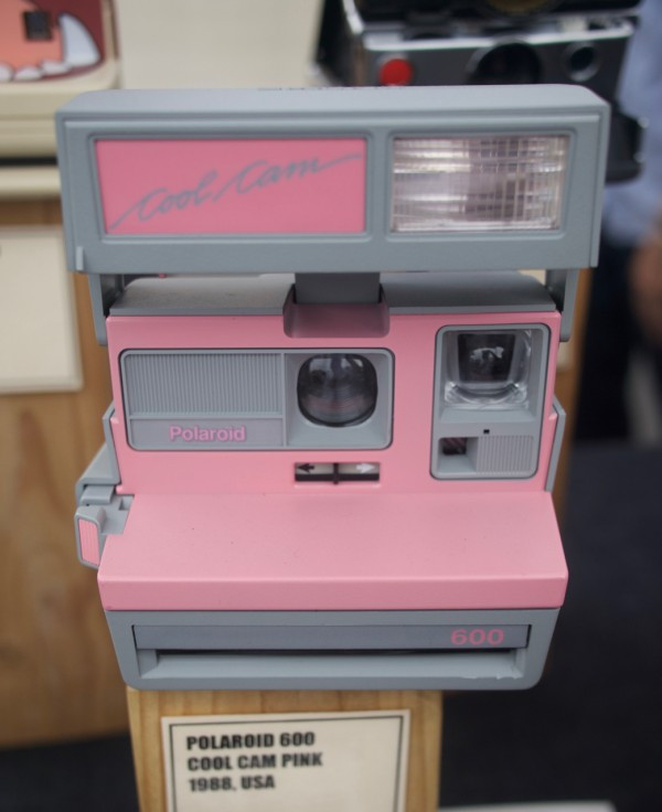 1988 Polaroid Cool Cam Pink Camera from Brooklyn Film Camera