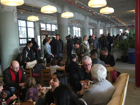 Safe And Warm Indoors In The Brooklyn Flea's Winter Home