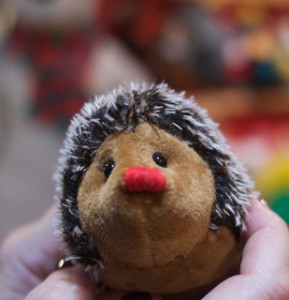 Handmade hedgehog