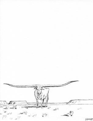 Longhorn - Diffee Doodle #0472