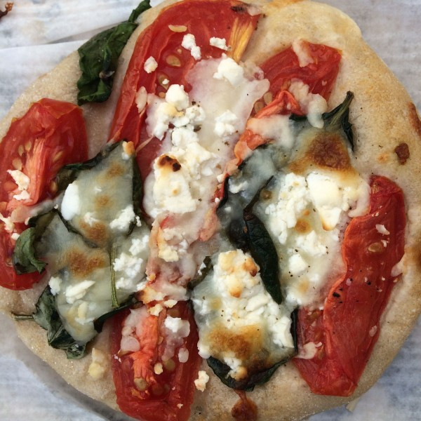 Goat Cheese & Tomato Focaccia from Buon Pane in the Greenmarket