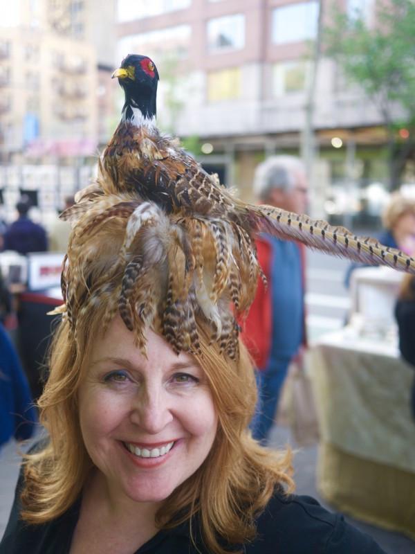 Dora Marra Pheasant Head Dress