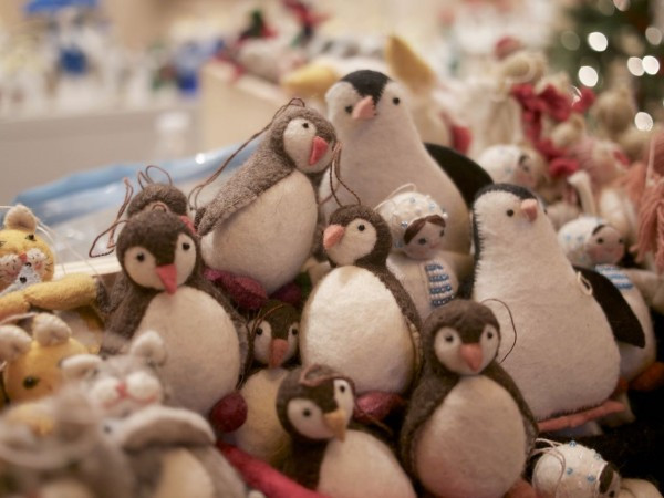 Piles of Penguins and many other designs from Craftspring --handmade in Kyrgyzstan