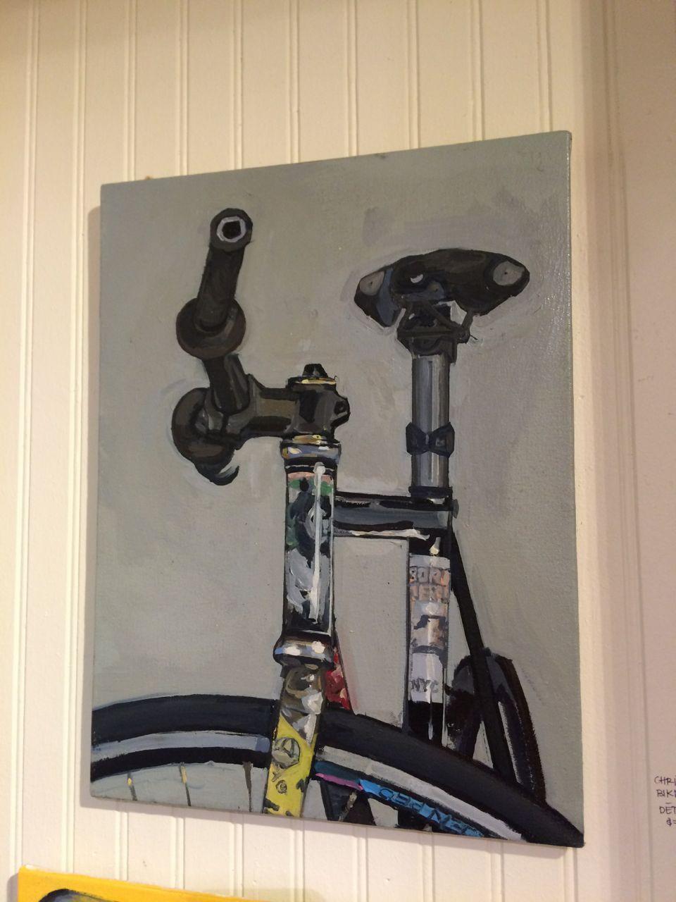 Taliah Lempert Bike Portrait