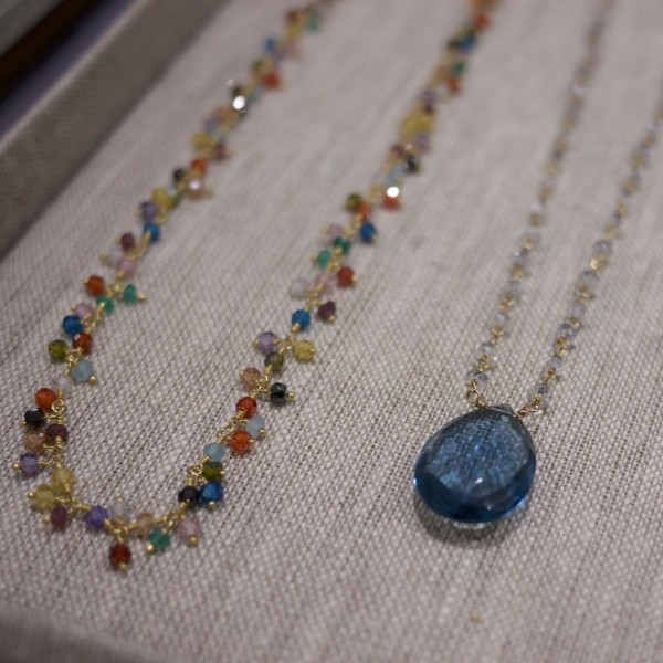 Colorful Gemstone Jewelry Designs by Barbara Wilkinson