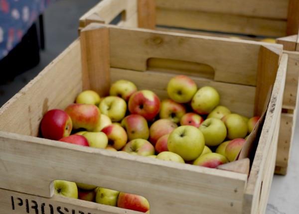 Bushels of Apple from Prospect Hill Farm