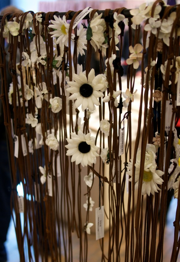 Let the sunshine in with Dora Marra's Daisy Head Bands