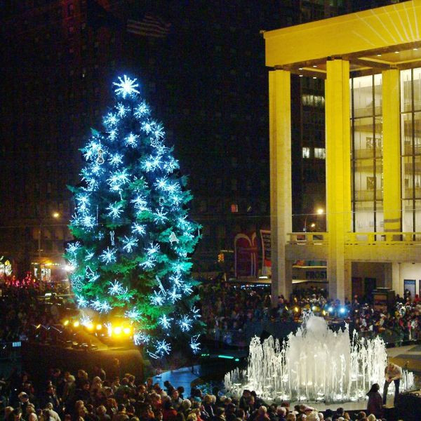 Christmas Tree at Lincoln Center (Photo courtesy of GuestOfAGuest.com)
