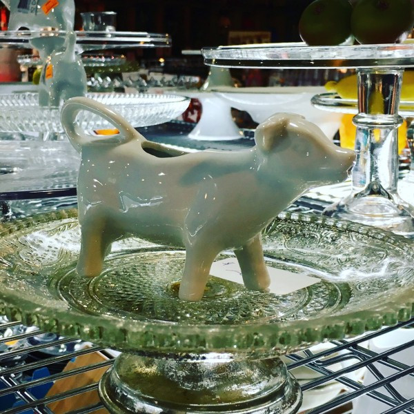 Everyone needs a Moo Cow Creamer! Get yours this weekend at the Bowery Kitchen Supply Sale!