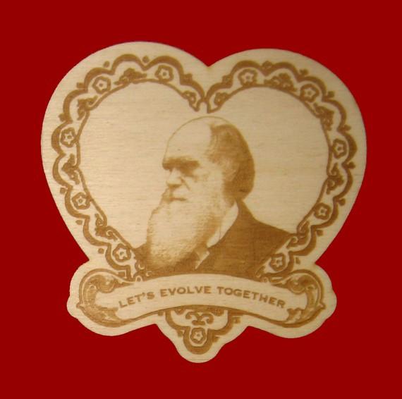 Eavesmade Darwin Love Note