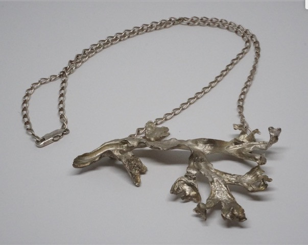 Sandrine B Jewlery Seaweed Necklace