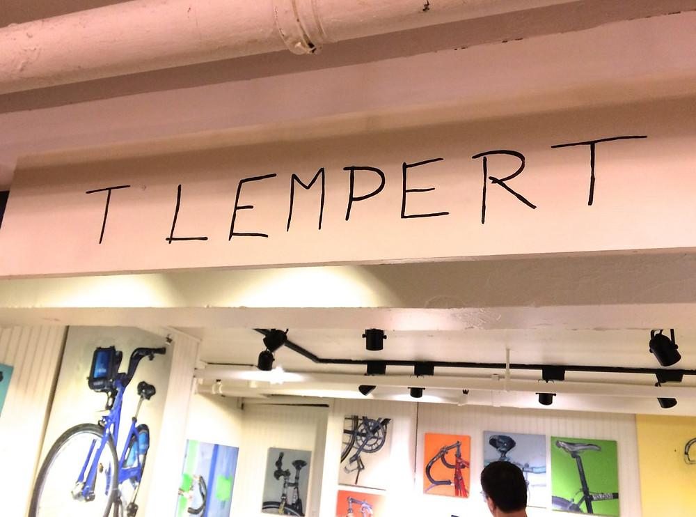 Entering Talia Lempert's Art Exhibit at Fishs Eddy
