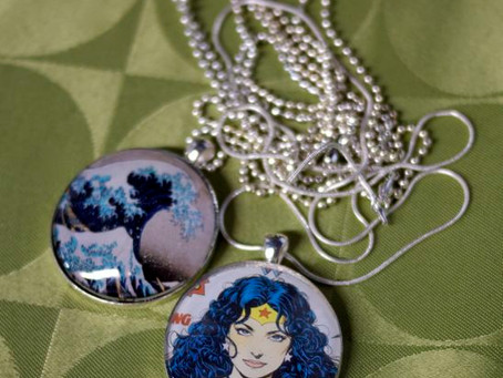 Weekend Market Picks May 11 & 12 2013: Wonder Woman Necklace for Mom from Lu Crafts