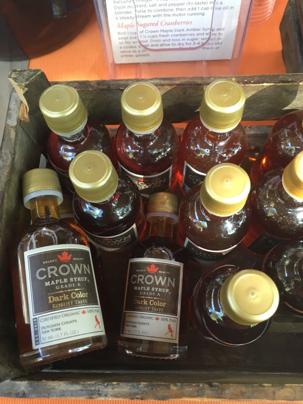 Crown Dark Maple Syrup from Dutchess County, NY