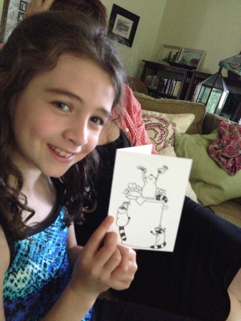 Maddie and Celebrating Racoons from Little Bunny