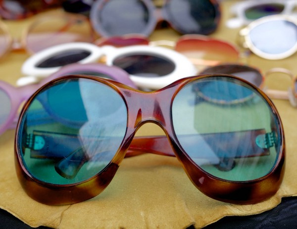 The coolest vintage '70's shades are de rigueur every summer.