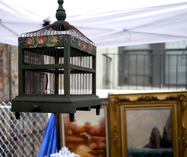Antique Birdcage at the Chelsea Flea Market