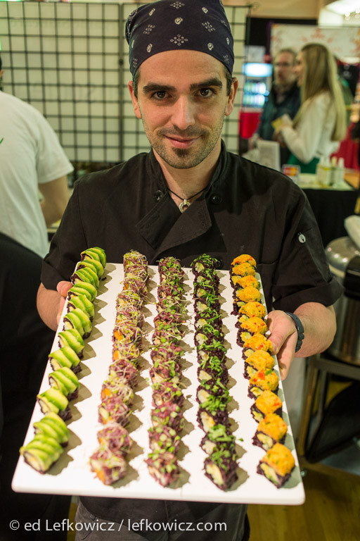 Chef Guy Vaknin of of Beyond Sushi Vegan Sushi