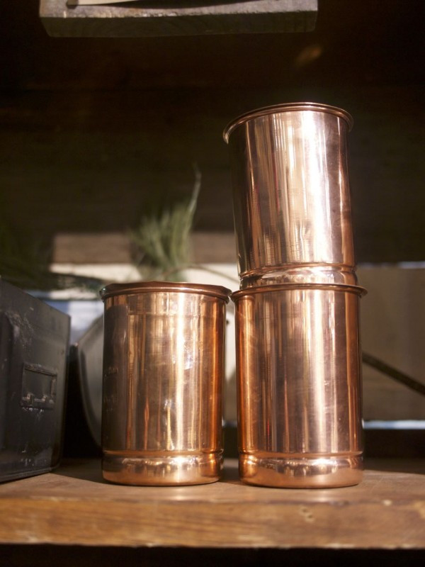 Versatile Copper Vessels - from The Local Branch
