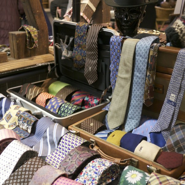 Vintage and New Ties from Kingston Twenty-One