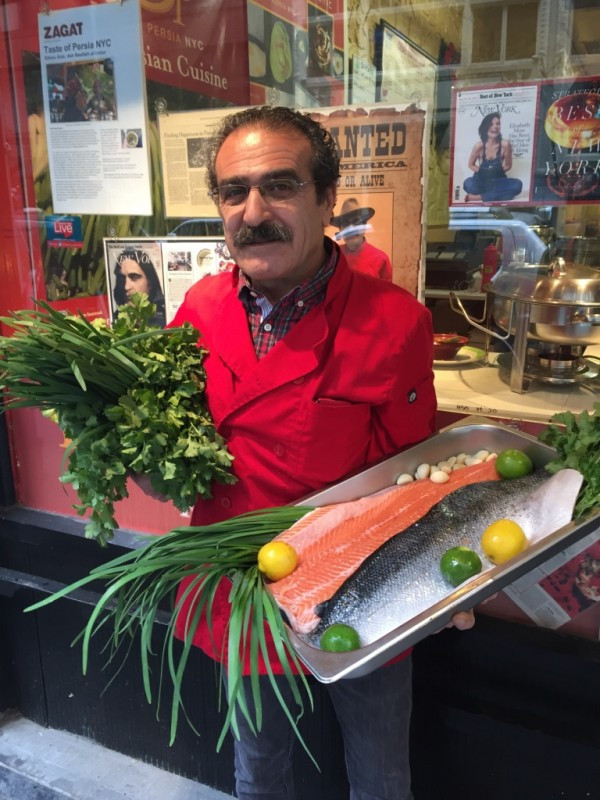 Saeed Pourkay, Chef and Owner, A Taste of Persia