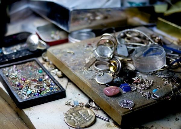Workbench at the Atlantis Jewelry St