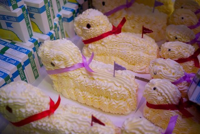 Butter Lambs, or Baranek wielkanocny in Polish