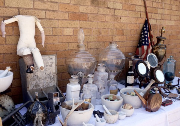 Vintage Objects at the Hell's Kitchen Flea Market