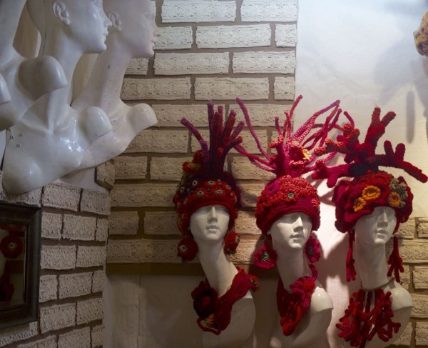 Sculptural Handmade Hats from Enna
