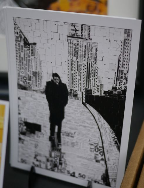 James Dean in New York, Metro Card Collages