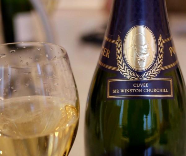 Tasting Winston Churchill Champagne at Pol Roger