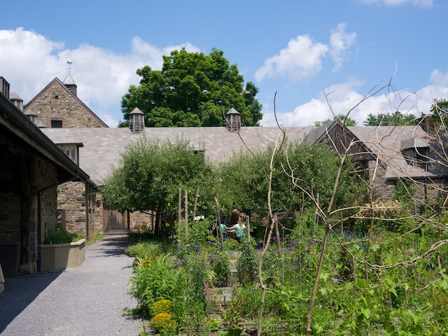 Stone Barns Center Dooryard Garden and Apple Tree Grove