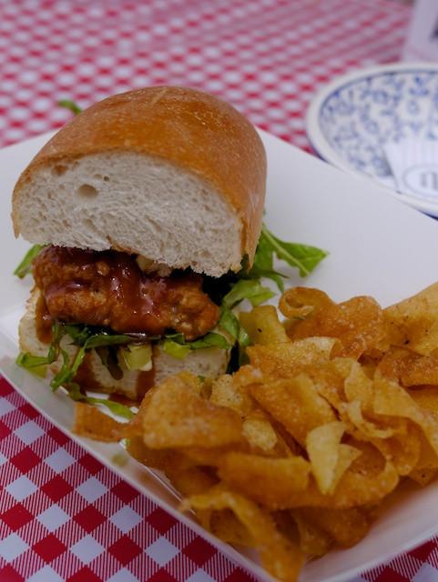 General Tso's Tso Boy Chicken Sandwich